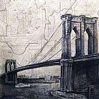 旧的桥装饰画