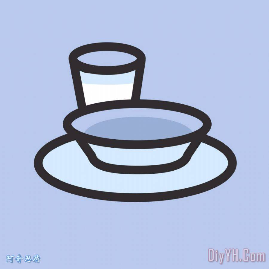 餐具装饰画_餐具油画定制
