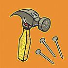 - 锤子和钉子三