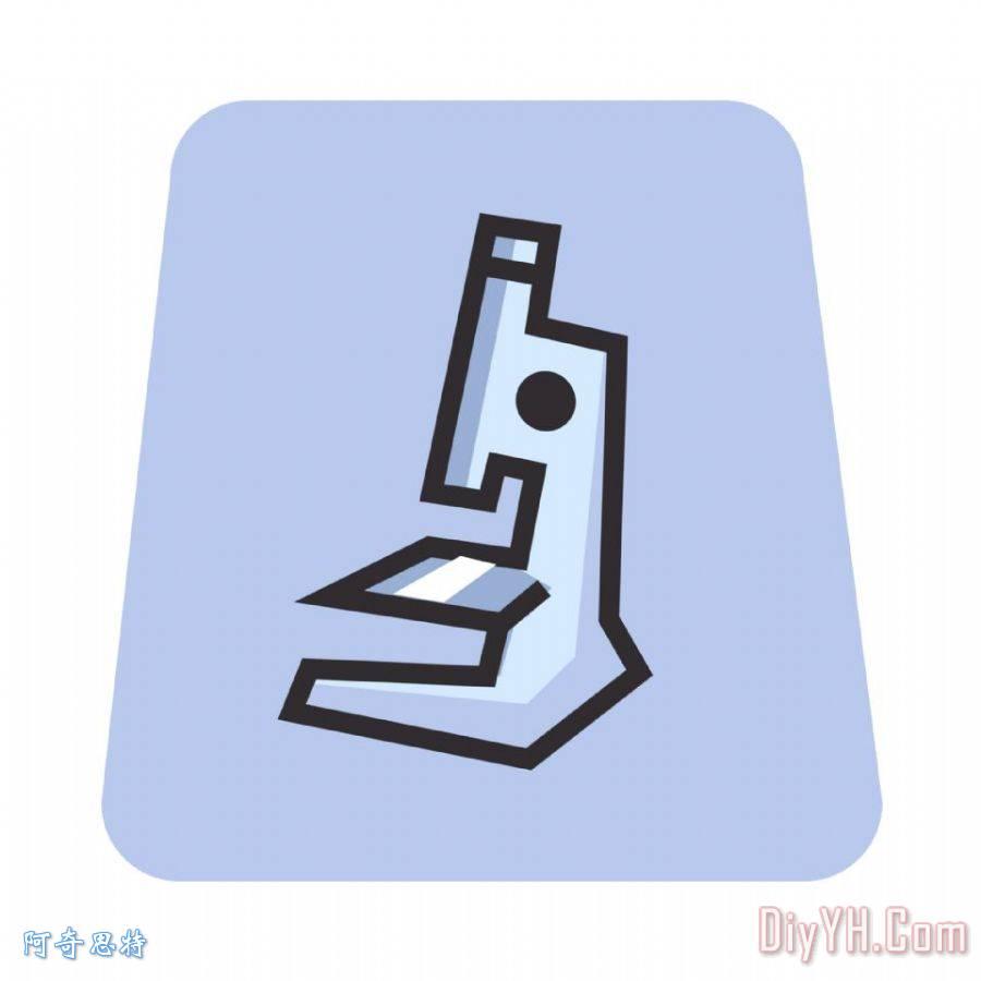 显微镜怎么画-显微镜怎么画简笔画-显微镜的结构图画