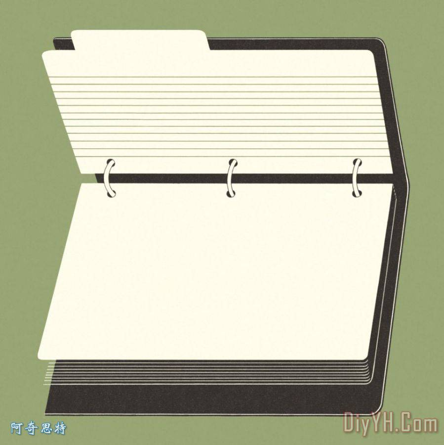 笔记本 - 笔记本装饰画