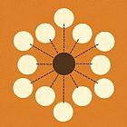 - 橙色和霜点设计