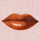 红色女人嘴唇装饰画