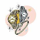 三手表装饰画