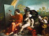 木星,水星和美德装饰画