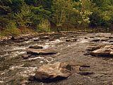 风景秀丽的青石河急于通过PIPESTEM国家公园装饰画