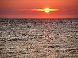 - 日落的海洋