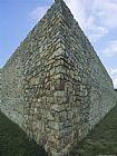 腓特烈堡的石墙装饰画