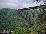 卡车越过新河峡大桥装饰画
