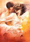 情感上的舞蹈舞蹈装饰画