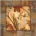 郁郁葱葱的热带III与边界装饰画