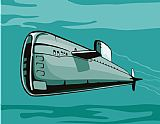 - 潜艇船复古