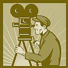 - 老式胶片相机导演