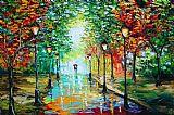 小雨美式田园风格装饰画