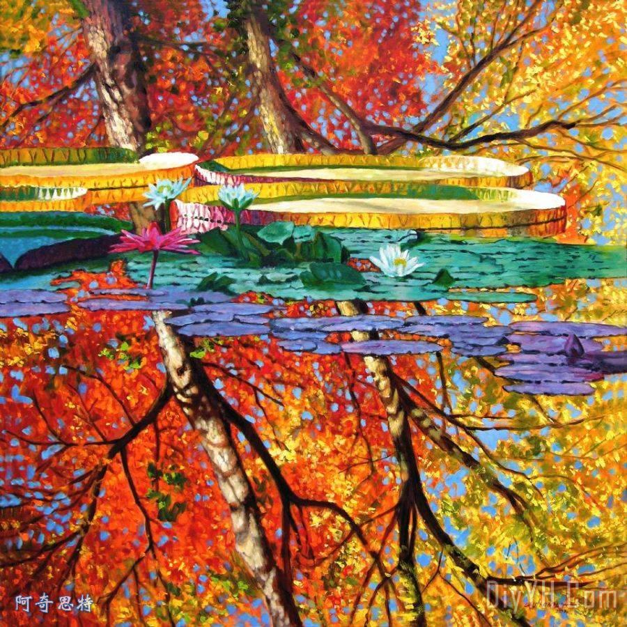秋季思考 - 秋季思考装饰画