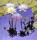 粉彩花瓣装饰画