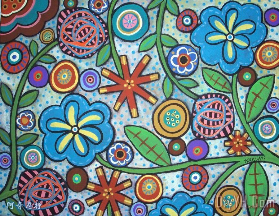 花的- 花的装饰画