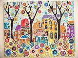 九屋三棵树景观装饰画