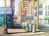 市中心装饰画
