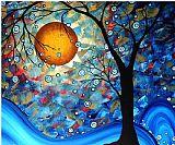 蓝精华抽象装饰画