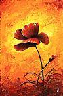 深红色 - 我的花 - 红色的罂粟
