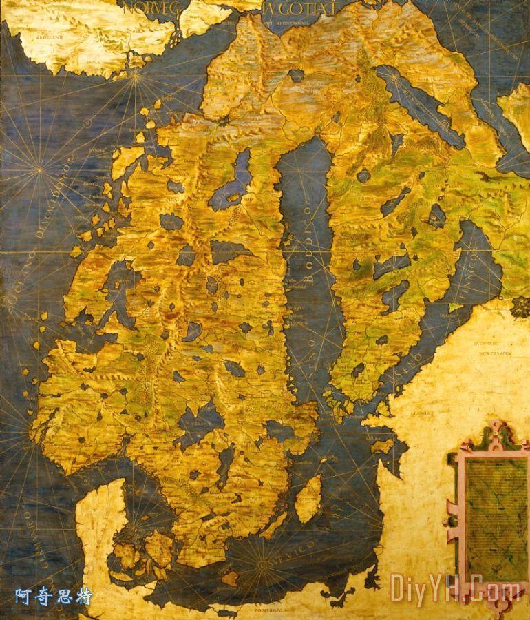 斯堪的纳维亚半岛 - 斯堪的纳维亚半岛装饰画