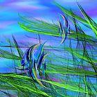 海底乐园抽象装饰画