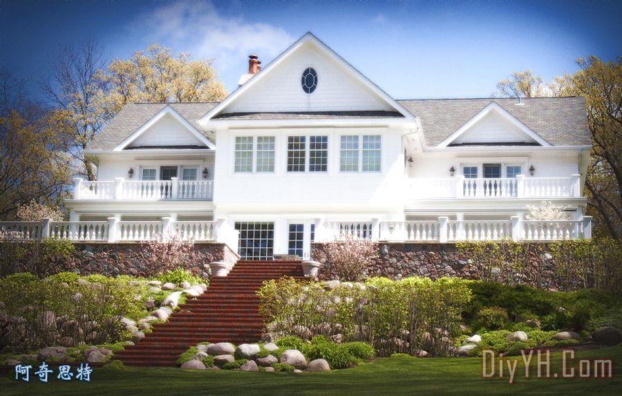 梦想中的房子 - 梦想中的房子装饰画图片