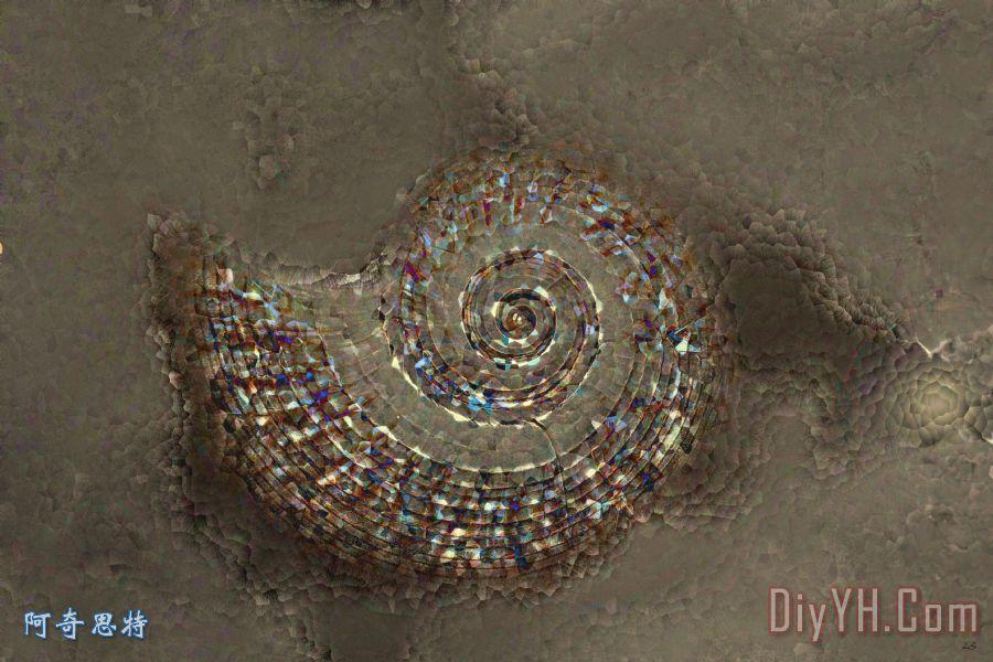 螺旋纹理 - 螺旋纹理装饰画