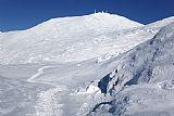 - 华盛顿山 - 白山新罕布什尔州美国冬季