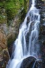 瀑布 - 变形杆菌瀑布 - 白山新罕布什尔州美国