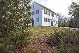 缅因州 - 沃波尔Meetinghouse数据布里斯托尔美国缅因州