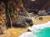 瀑布 - McWay加州瀑布
