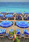 - 海滩在法国多维尔