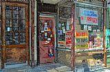 记录存储在格林威治村装饰画