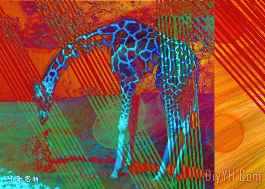 长颈鹿的画-儿童画画大全简单漂亮-老虎简笔画-长颈鹿