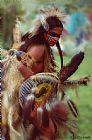 美国原住民传统花式舞者美术印刷舞蹈装饰画