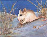 该Choctawhatchee海滩鼠标装饰画