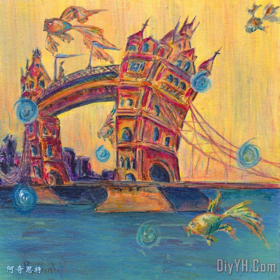 伦敦塔桥 - 伦敦塔桥装饰画