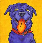 黄狗装饰画