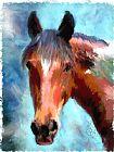 另一种颜色的马装饰画