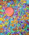 太阳的颜色装饰画