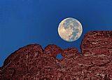 - 蓝月亮在接吻骆驼