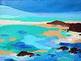 梦里景象系列14抽象油画