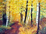 秋季伍兹路径2012 2装饰画