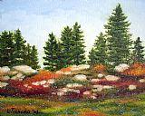 缅因州野生蓝莓1009装饰画