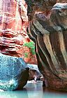 处女河变窄装饰画