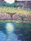 澳大利亚彩虹吸蜜鹦鹉装饰画