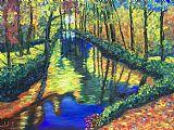 神奇的河装饰画