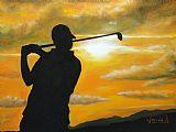 - 日落高尔夫球